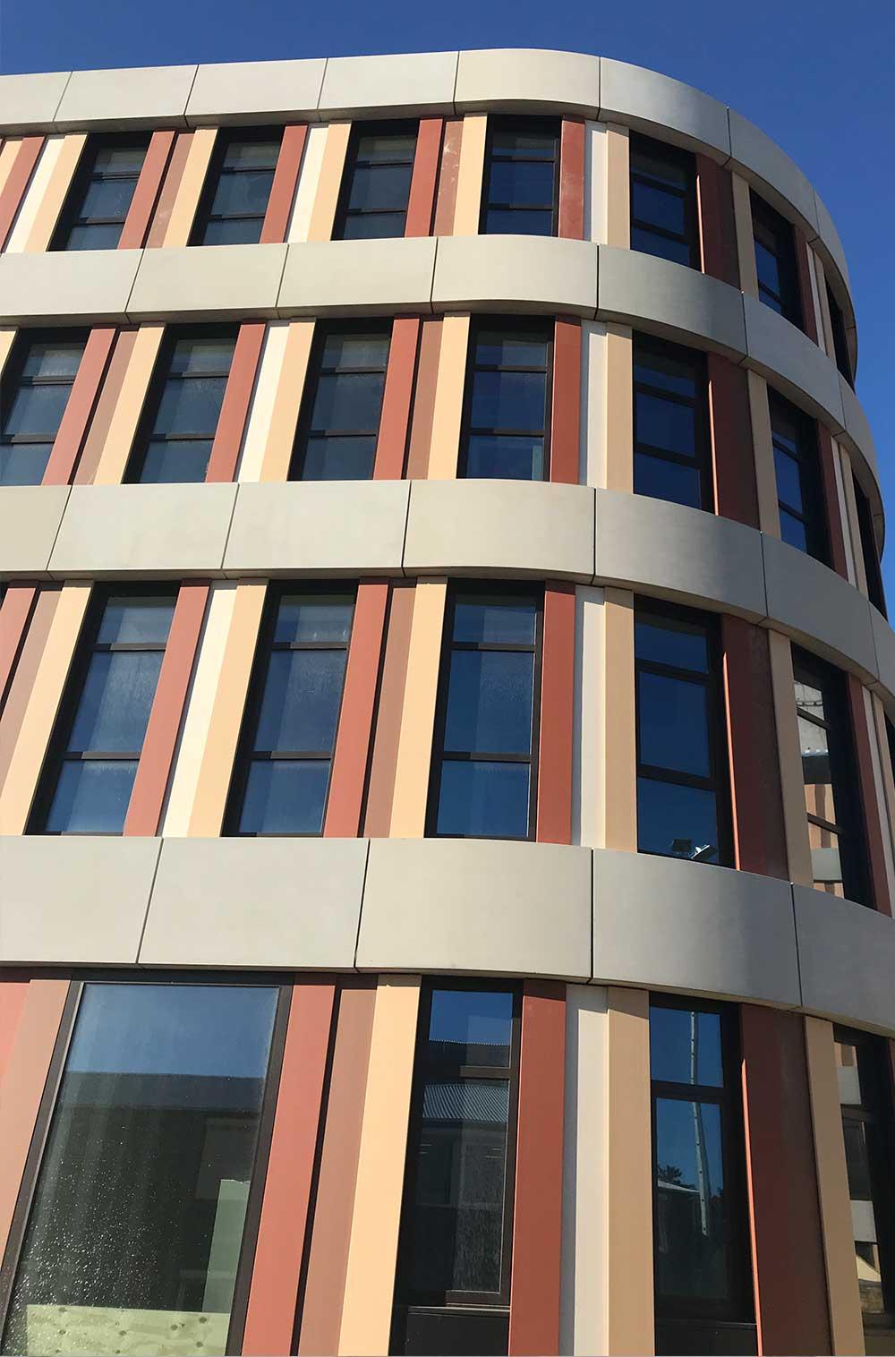 Amphia Hospital hoek closeup