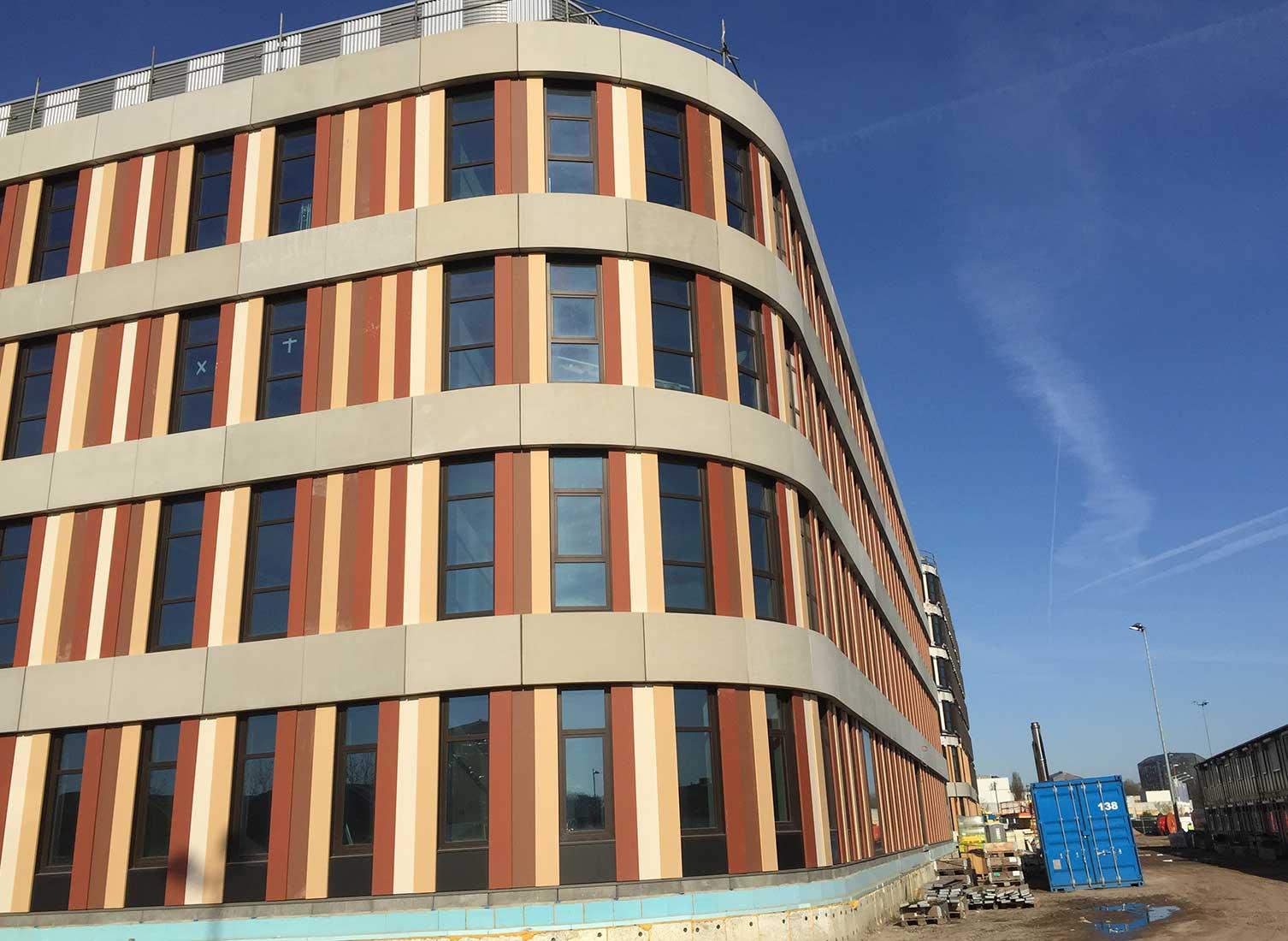 Amphia Hospital bouw hoek