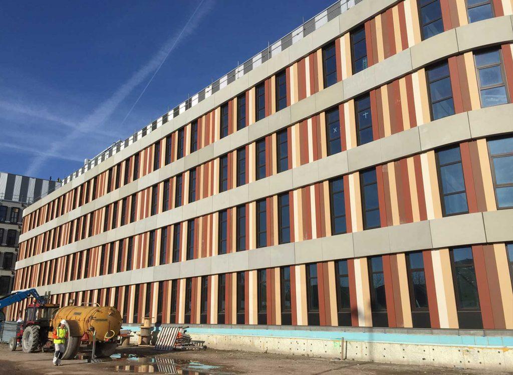 Amphia Hospital bouw zijkant