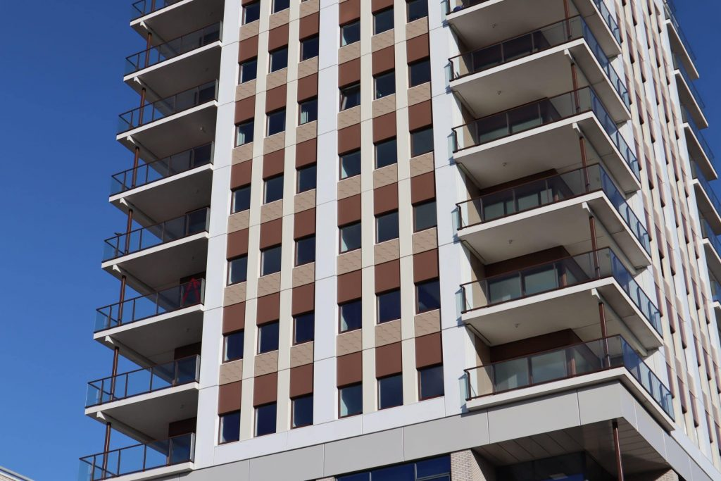 Slender lightweight balconies